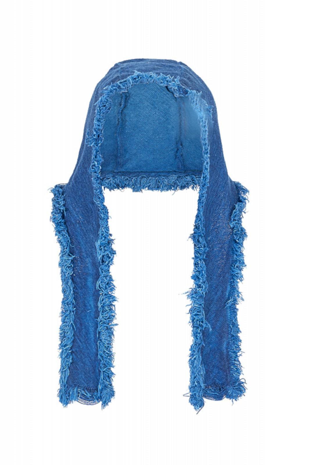 Josse - Bundhaube blau