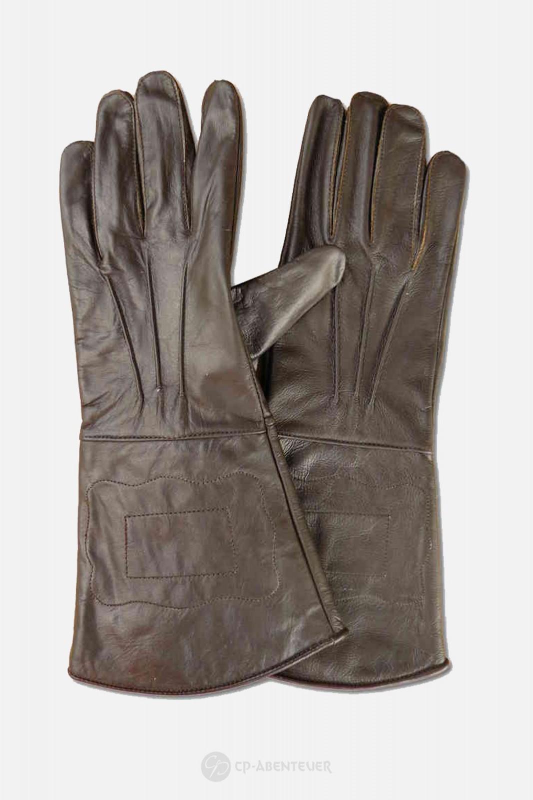 Handschuh - Leder, braun