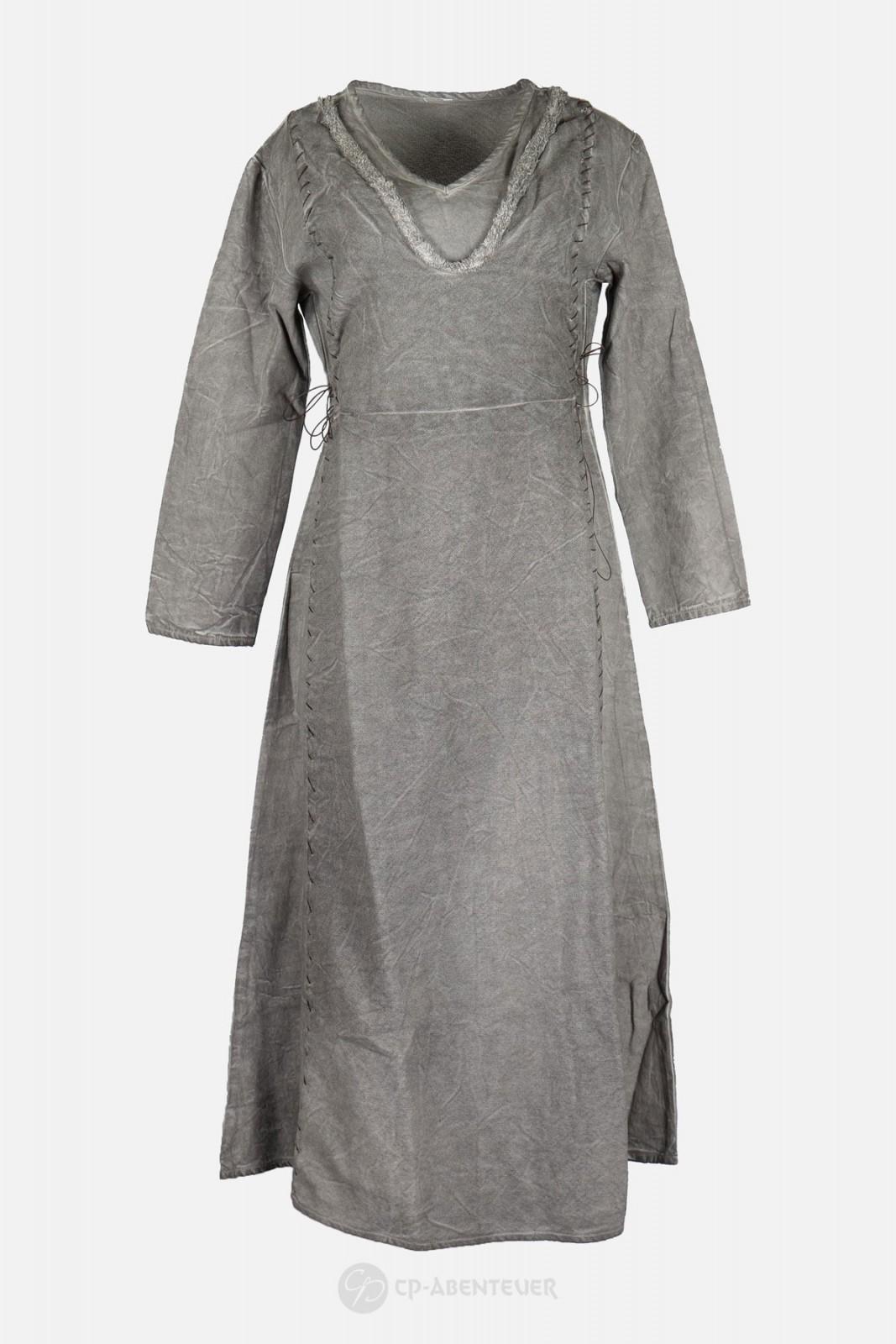 Lagertha - Kleid grau