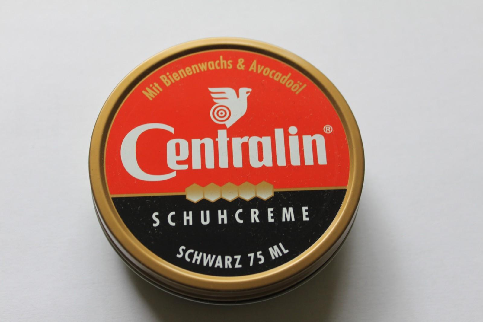 Centralin Schuhcreme Schwarz oder Farblos 75ml