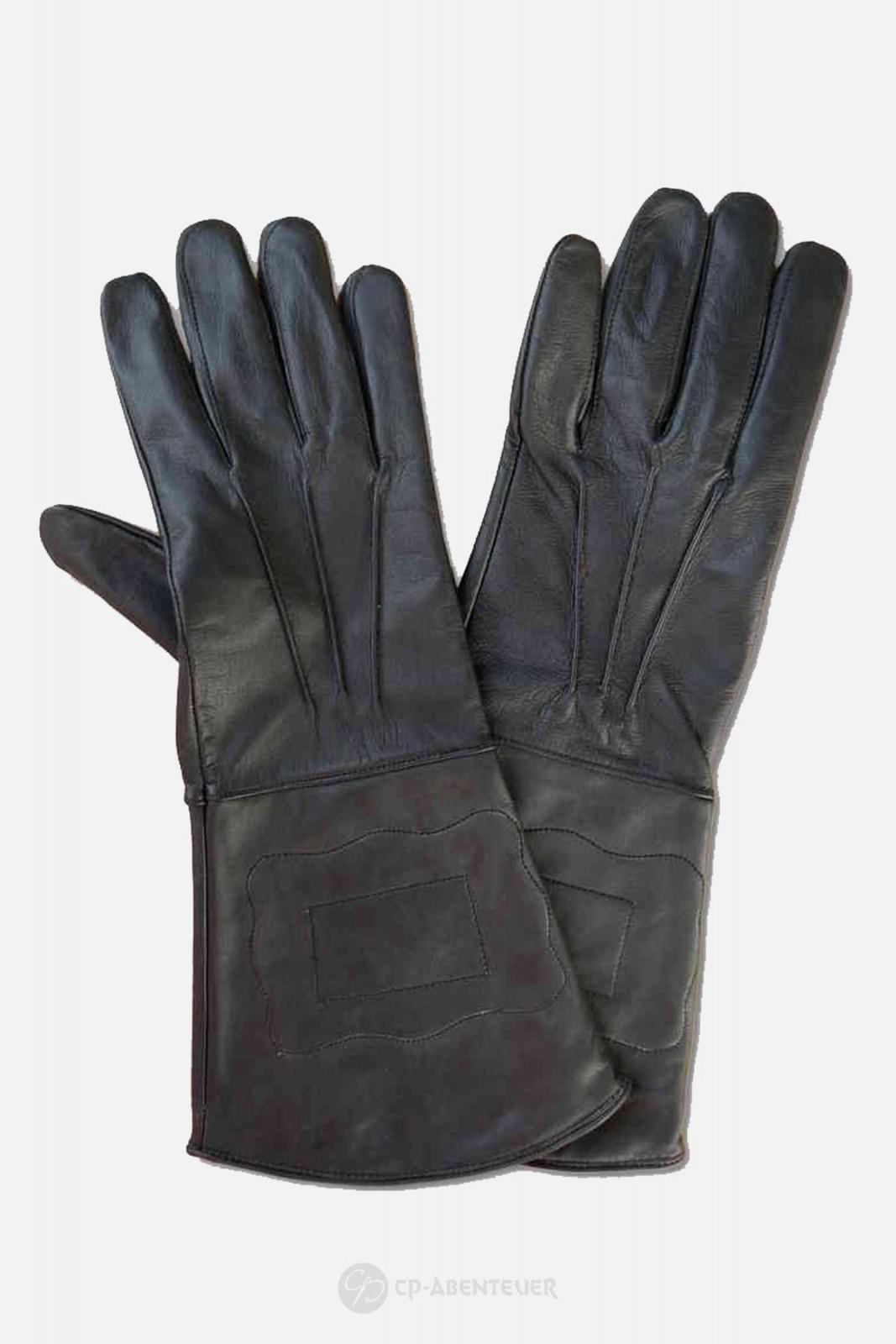 Handschuh - Leder, schwarz