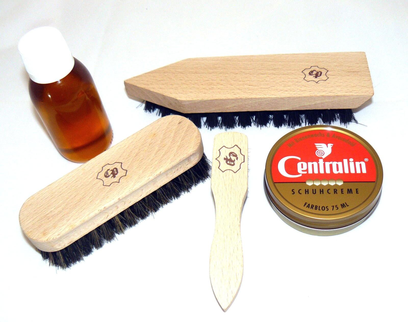 Leder - Schuhpflege Set