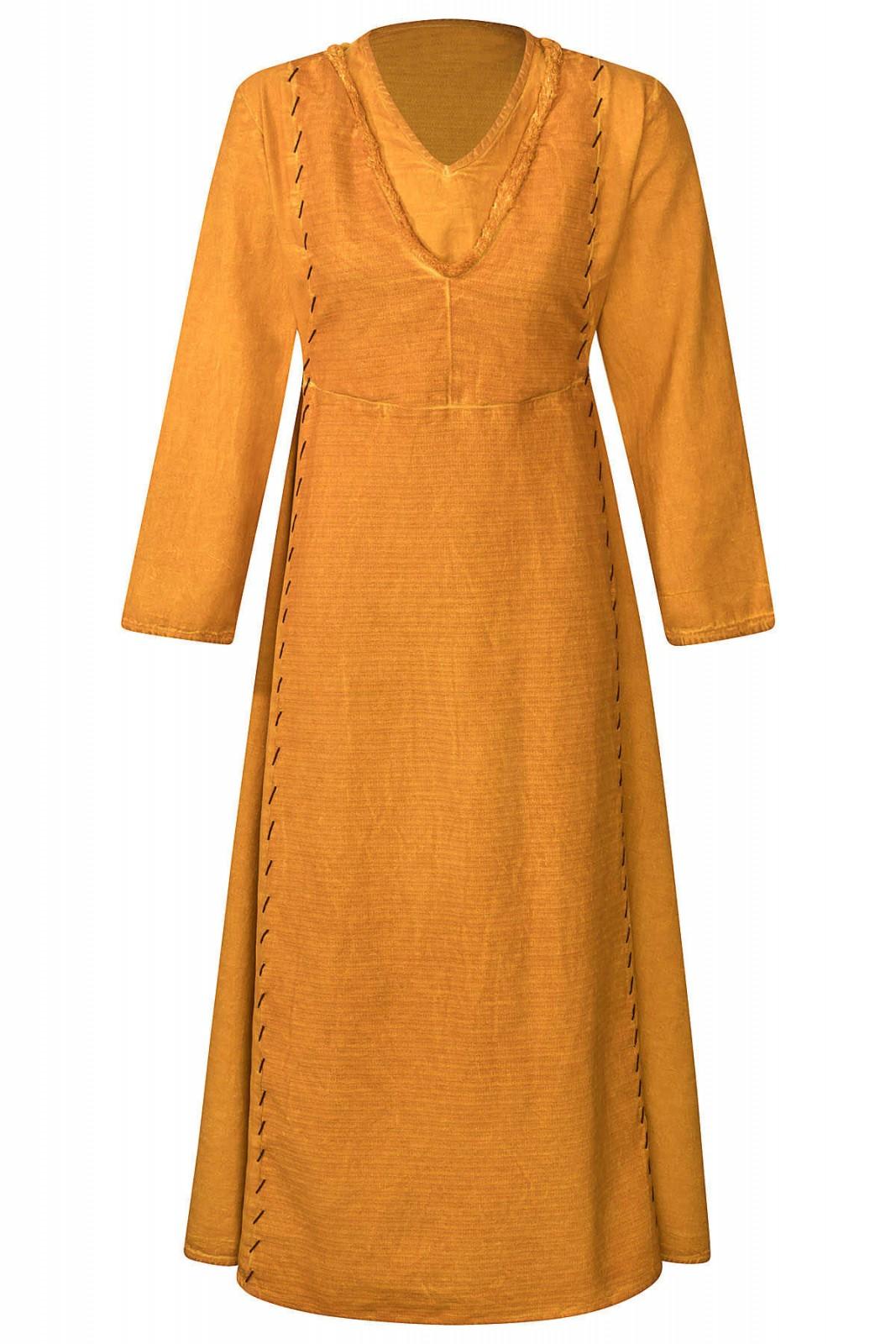 Lagertha - Kleid gelb