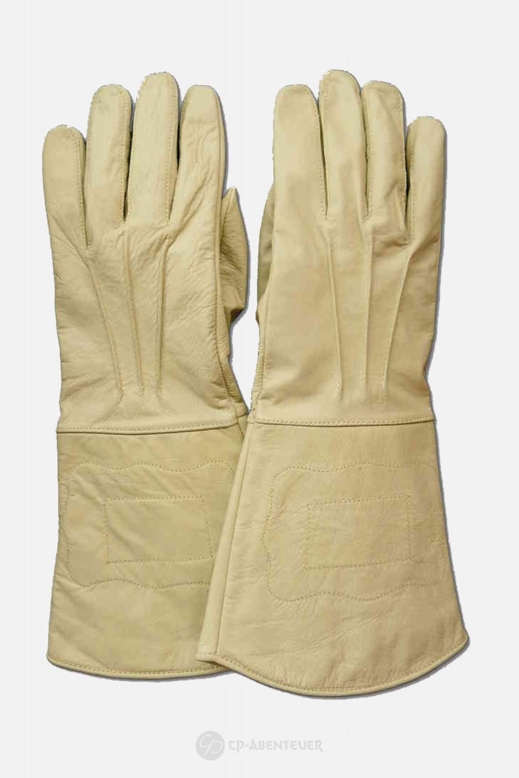 Handschuh - Leder, natur
